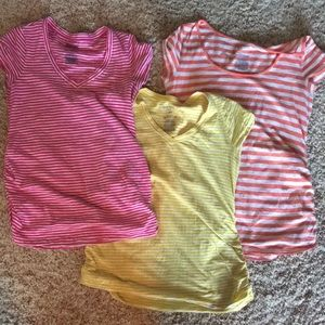 THREE -Old Navy MATERNITY large tops